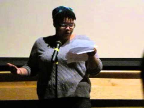 Tiffany Bellfield Poem at Soul Food Junkies film screening