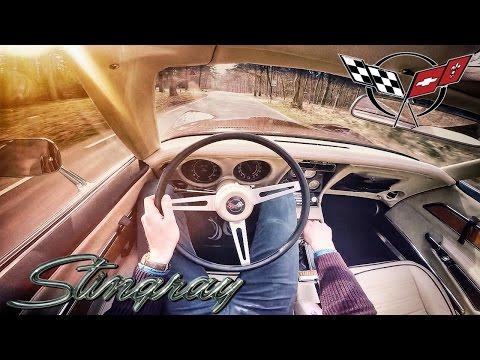 Chevrolet Corvette Stingray C3 1972 350 V8 POV LOUD! Test Drive by AutoTopNL