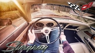 Chevrolet Corvette Stingray C3 1972 350 V8 POV LOUD! Test Drive by AutoTopNL
