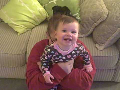 Audrey Marie Anderson giggling!
