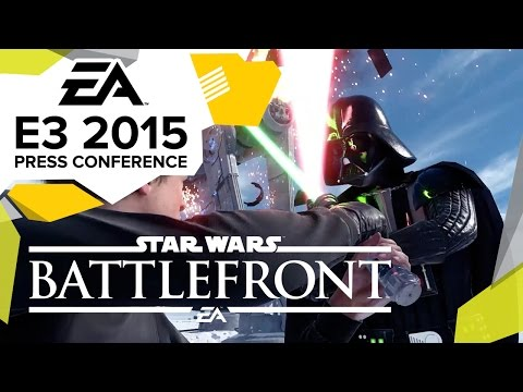 Star Wars: Battlefront Hoth Gameplay Premiere  - E3 2015 EA Press Conference