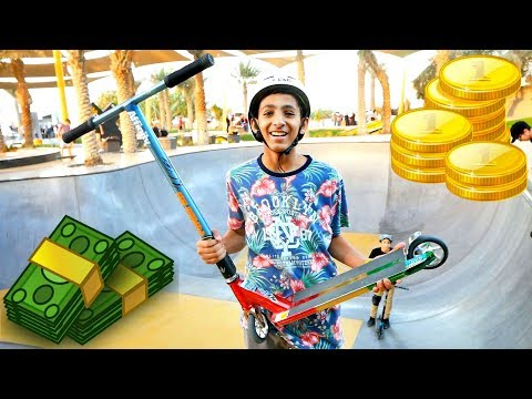 DUBAI'S RICHEST SCOOTER KID! *billionaire*