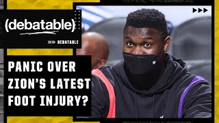 Should the Pelicans panic about Zion's foot 😅| (debatable)
