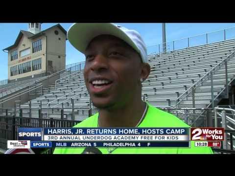 Chris Harris, Jr. returns home to Bixby, hosts 3rd annual Underdog Academy