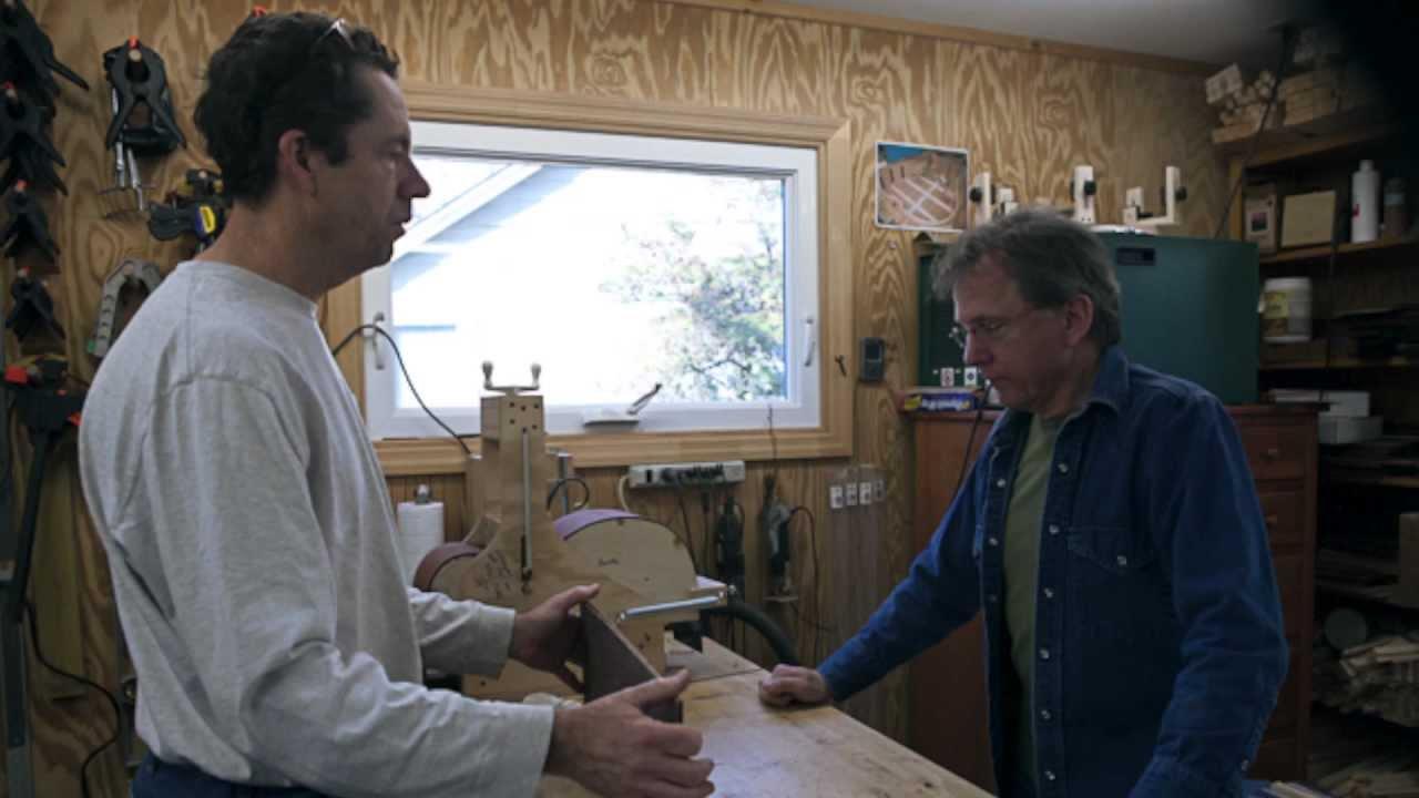 lichty guitar building workshop david lanik youtube. Black Bedroom Furniture Sets. Home Design Ideas