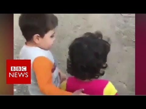 Thumbnail: The truth behind this Iranian child video - BBC News