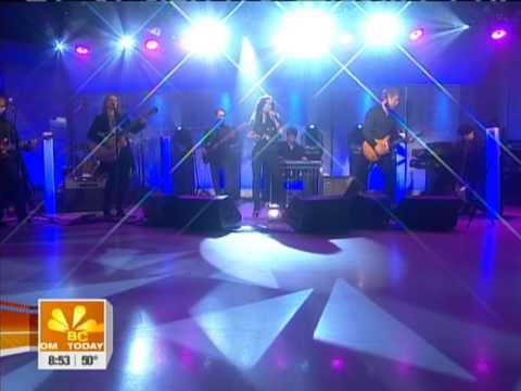Martina McBride Sings Ride On The Today Show - March 24, 2009