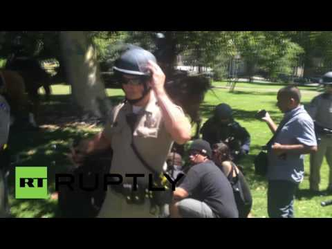 USA: Multiple stabbings hit Sacramento Capitol after far-right clash with antifa