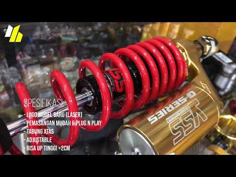 Shock Absorber YSS G SERIES Yamaha NMax 155