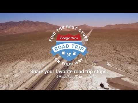 Google Maps Ultimate Road Trip 2016