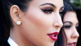 kim kardashian arabic double winged liner eye smokey eye makeup tutorial