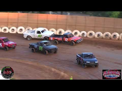 June 8th, 2019 Placerville Speedway Mini Truck Main Highlights