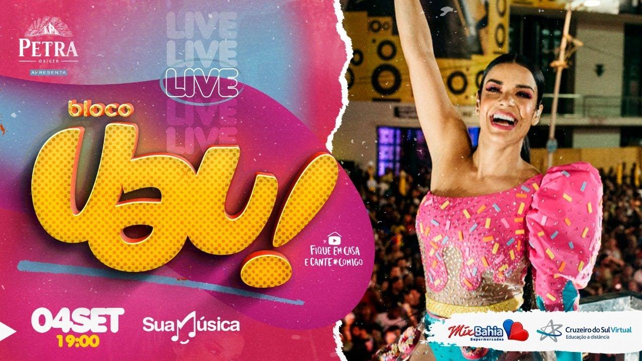 🔴 LIVE: Bloco UAU! - Babado Novo | Sua Música