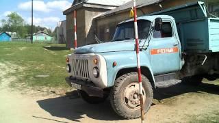 Заезд в бокс задом ГАЗ 53.mp4