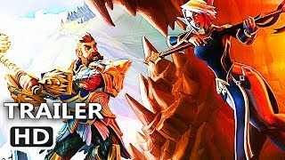 """PS4 - Dungeons 3 """"A Multitude of Maps"""" Trailer (2020)"""