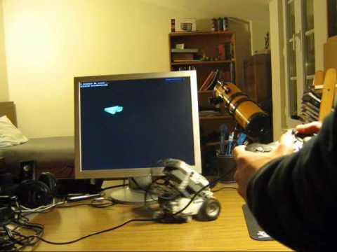 Controlling Lego Mindstorms Nxt With Gamepad Youtube