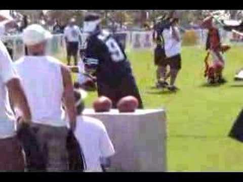 Tony Romo at 2007 Pro Bowl Challenge