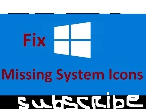 How To Fix Missing Desktop Icons In Windows 10 | Easily Showing