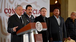 Conferencia de prensa extraordinaria por lo ocurrido en Tlahuelilpan, Hidalgo. thumbnail