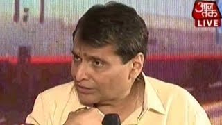 Aaj Tak Manthan: Suresh Prabhu On Accountability, Building New Stations, & More