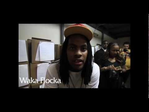 Behind The Scenes: Waka Flocka (Feat. Meek Mill) - Let Them Guns Blam