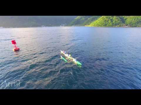 Outrigger Paddling American Samoa | 4K