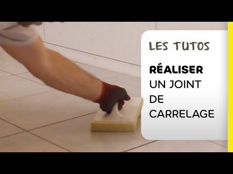 Fantastique Comment réaliser un joint de carrelage ? - YouTube YD-55