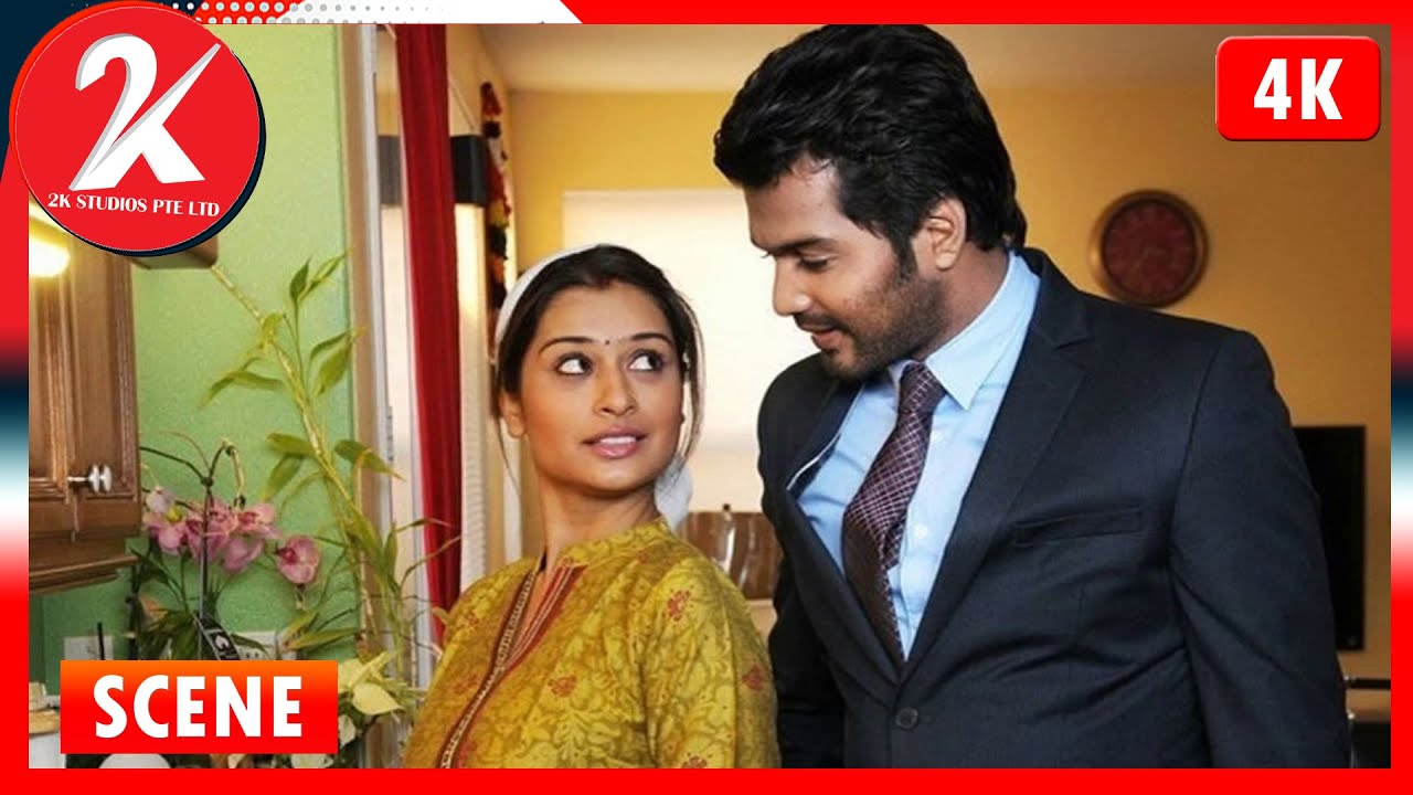 Husband wife first fight scene - Iruvar Ullam | Tamil Movie | Vinay | Archana Gupta
