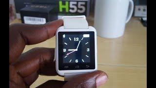 Set time and Date U8 Smartwatch