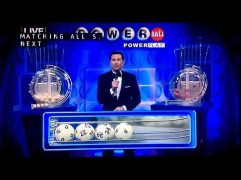 Live Reaction of the Powerball Jackpot Winner