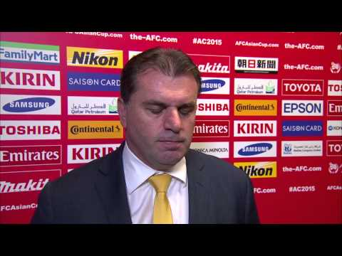 Interview: FINAL - Ange Postecoglou (Coach, Australia)