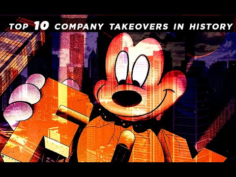 TOP 10 Company buyouts in history