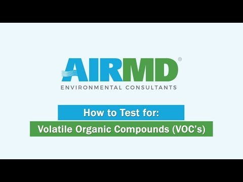 AirMD: How To Test For Volative Organic Compounds (VOC's)