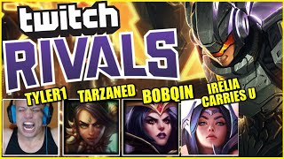 TYLER1 DRAFTED ME FOR A $75,000 TWITCH RIVALS TOURNAMENT?! (ft. Tarzaned, i0ki, ICU, Bobqin)