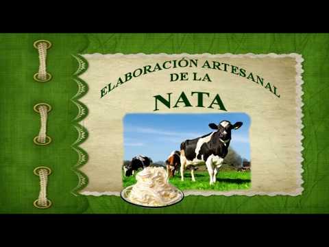 Elaboracion Artesanal de Nata.