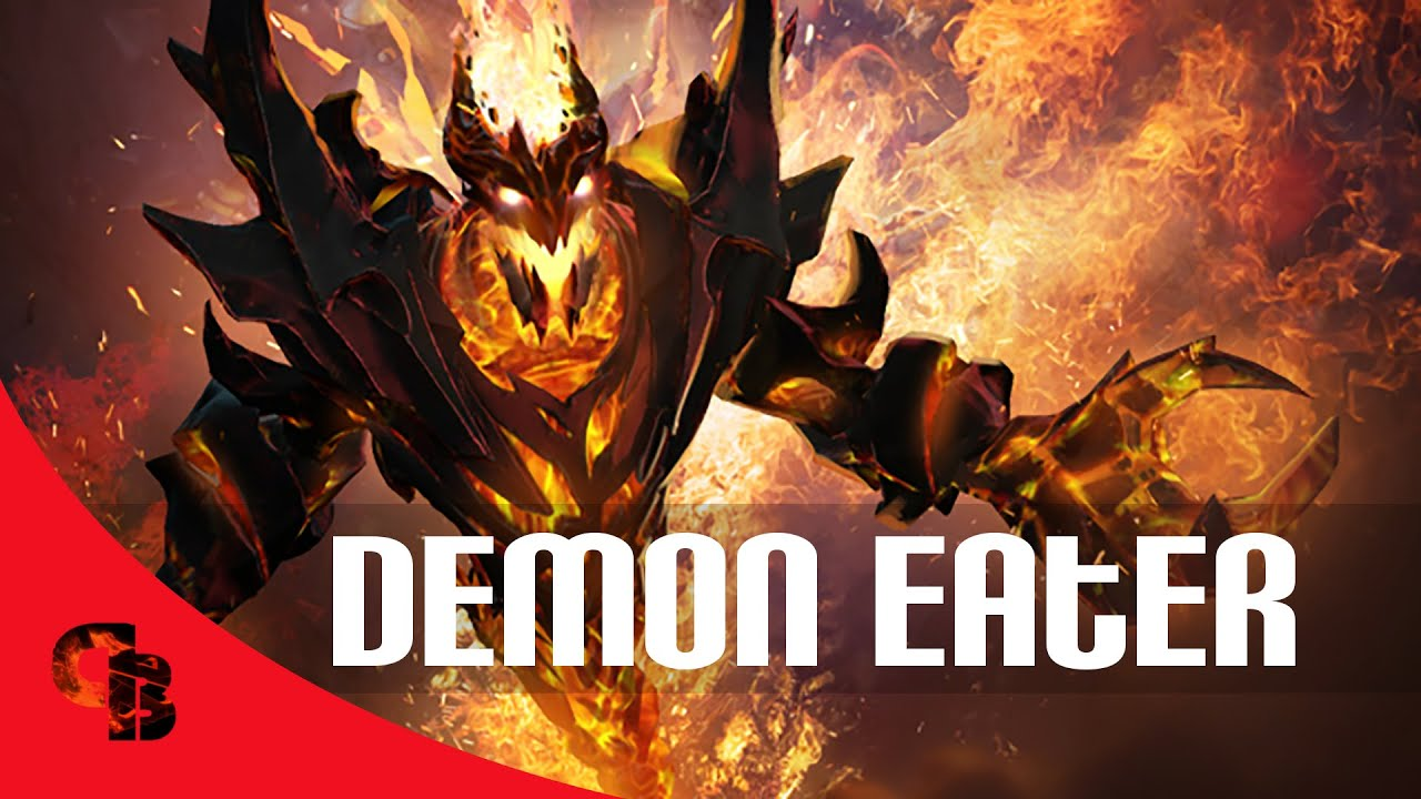 Dota 2 Store Shadow Fiend Demon Eater Arcana YouTube