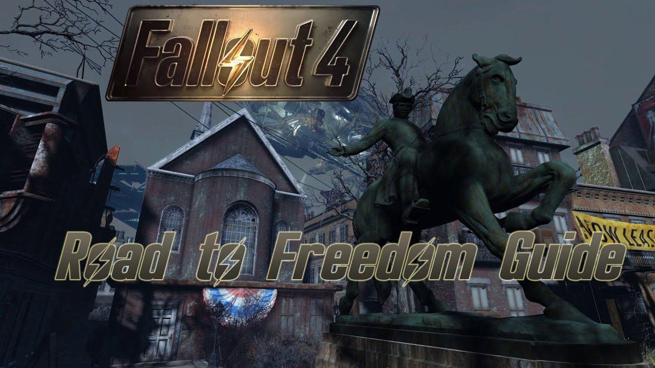 Fallout 4 Weg Zur Freiheit