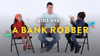Kids Meet a Bank Robber | Kids Meet | HiHo Kids