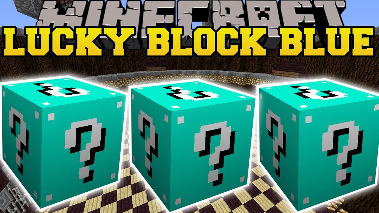 more lucky blocks mod