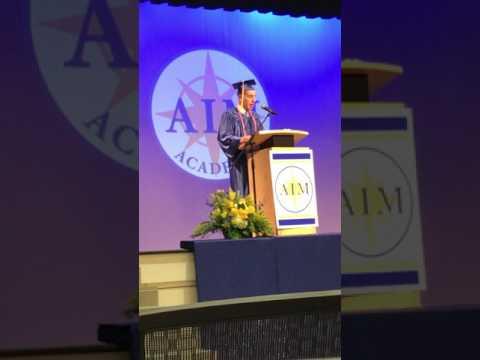 Andrew Rosenstein - AIM Academy 2017 Commencement