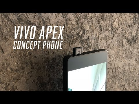 Vivo Apex concept phone hands-on
