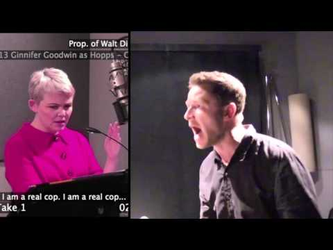 Recording Zootopia With Ginnifer Goodwin and Josh Dallas