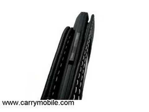 CarryMobile Leather Case for Samsung SGH-X828/X820 - Sleeve
