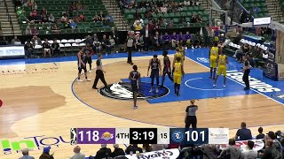 Johnathan Motley Posts 29 points & 10 rebounds vs. South Bay Lakers