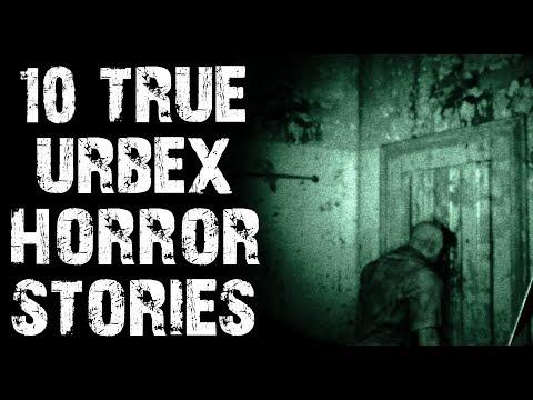 10 TRUE Disturbing & Creepy Urban Exploration Horror Stories| (Scary Stories)