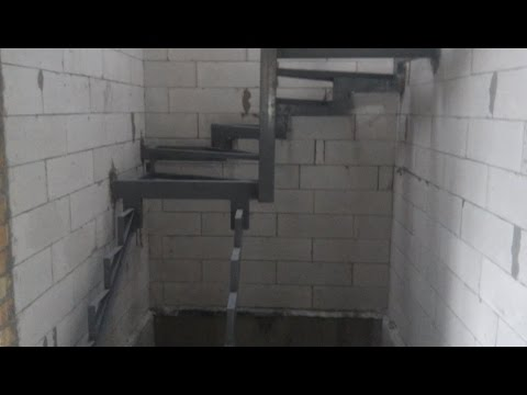 2016.11.07 Каркас лестницы