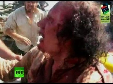 Killing P.O.W.? Video of Gaddafi's last moments