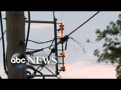 Powerful storms and heat wave cause power outages in Midwest, Northeast