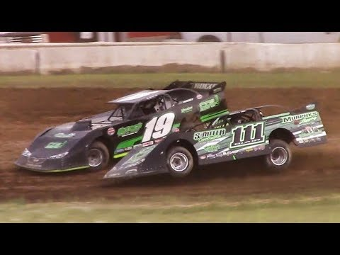 ULMS Super Late Model Heat One | McKean County Family Raceway | 6-16-18