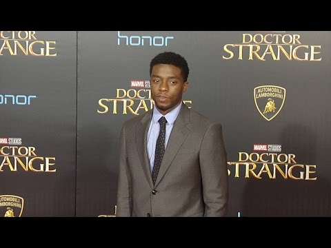 "Chadwick Boseman ""Doctor Strange"" World Premiere Red Carpet"